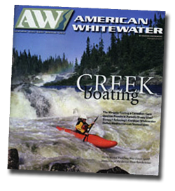 american whitewater magazine on Earth River